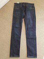 Levi's 511 Men's Dark Wash Blue Denim Jeans Sz 34/34