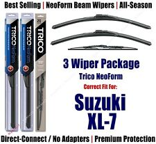 3-Pack Wipers Front & Rear - NeoForm - fit 2002-2004 Suzuki XL-7 - 16190x2/30150