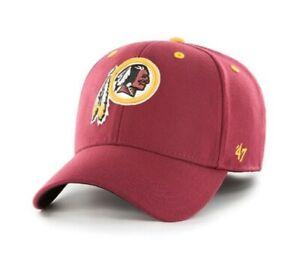 Washington Redskins stretch fit L/XL hat cap '47 Brand new nwt red NFL