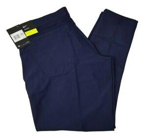 Nike Navy Men's Flex Slim Fit Golf Pant Size 35x30