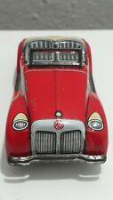 VINTAGE MG JAPAN TIN TOY CAR 'Y' FRICTION 1970's ORIG. RETRO VEHICLE CONVERTABLE