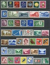 SWITZERLAND SEMI-POSTAL COLLECTION MINT & USED UNTIL 1947-1965