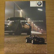 BMW 1:12 1:18 1:24 1:43 1:87 miniatures échelle voiture vélo Modèles brochure 2001-2002