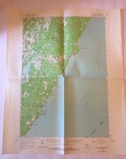 Vintage 1963 Topographic Folded Map Cedar River Michigan-Wisconsin