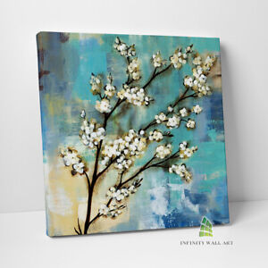 Kyoto Blossoms Canvas Art Abstract Oil Painting Canvas Print Art Picture --C641