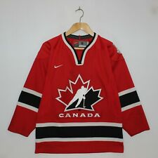 Vintage Team Canada IIHF Nike Jersey Size Small
