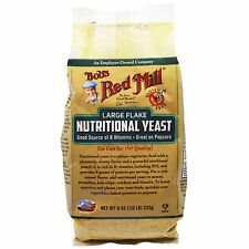 Large Flake Nutritional Food Yeast, 8 oz (226 g) - Bob's Red Mill