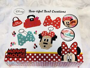 Disney Minnie Mouse Bow-Tiful Bead Set Brand new in box
