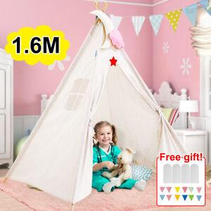 Large Children Indian Tent Teepee Kids Wigwam Indoor Outdoor Garden Play House