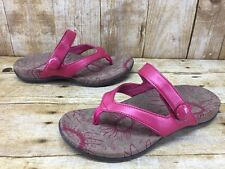 Orthaheel Cocoa Raspberry Pink Thong Sandals Womens sz 5