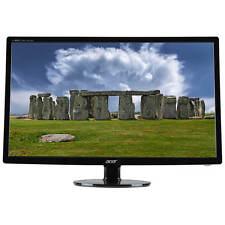 "27"" Acer S271HL LED LCD Monitor HDMI DVI VGA 1080p Ultra-Slim Widescreen - Black"