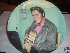 "ELVIS PRESLEY'S ""A STUDIO SESSION"" COLLECTOR'S PLATE (PLATE#10021B)"