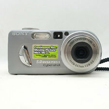 Sony Cyber-shot DSC-P10 5.0MP & 3X Zoom - Fully Tested - 100% - Excellent