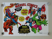1975 Mead Marvel poster 1:Spider-man/Thor/Avengers/Hulk/Iron Man/Fantastic Four