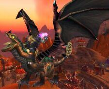 World of Warcraft WOW TCG MOTTLED DRAKE MOUNT