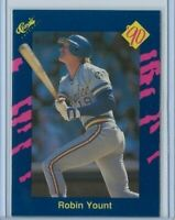 1990 Classic Series One Robin Yount base card