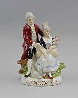 """9942613 Porcellana Rokoko-Figur """" il Lettera """" Wagner & Apel H21cm"""