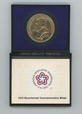 American Revolution Paul Revere 1975 Bicentennial encased Medal