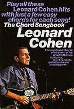 Leonard Cohen The Chord Songbook Melody Lyrics and Chords Book (2013,...