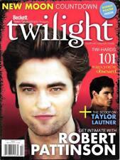 TWILIGHT Robert Pattinson TaylorLautner NEW MOON Beckett Teen Collector Magazine