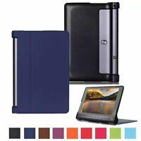 Housse pour Lenovo Yoga Tab 3 Pro YT3-X90 Sac Housse Folio YT3-X90L X90F Bleu
