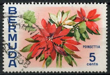 Bermuda 1974-1976 SG#303, 5c Flowers Definitives Used WMk Upright #D22367