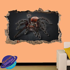 GIANT TARANTULA SPIDER WALL STICKER POSTER 3D EFFECT ROOM DECOR DECAL MURAL XD9