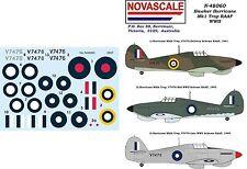 RAAF Hurricane Mk1 Trop WWII Decals 1/48 Scale N48060