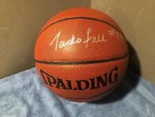Gerald Henderson Authentic Signed Mini Spalding Basketball COA