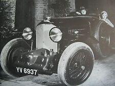 Vintage W o Bentley ilustrada historia de los Bentley coche 1st edición vscc