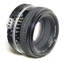 Nikon Nikkor 50mm f1.8 AI-S lens manual focus