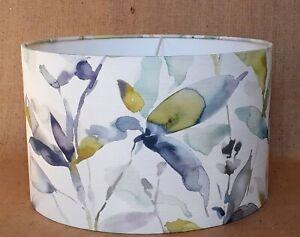 Handmade Voyage Naura lemon leaf leaves botanical country drum lampshade 15-40cm