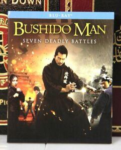 BUSHIDO MAN SEVEN DEADLY BATTLES -- BLU-RAY w/ SLIPCOVER -- I SHIP BOXED