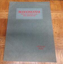 CATALOG NO. 82 WINCHESTER: REPEATING AND SINGLE SHOT RIFLES AND SHOTGUNS