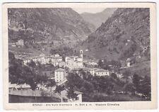 0312 BERGAMO BRANZI - VAL BREMBANA Cartolina viaggiata 1951