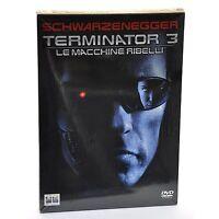 TERMINATOR 3 LE MACCHINE RIBELLI DVD Jonathan Mostow Arnold Schwarzenegger NUOVO