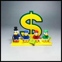 Acrylic display stand for LEGO Disney series 2 ducks Minifigures
