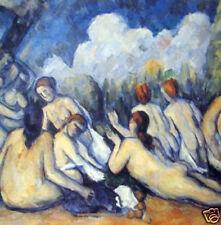 Die Groben Badenden by Paul Cezanne