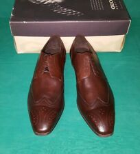 GEOX SCARPA UOMO Invernale Sneaker Boston U5471B 03343 Pelle