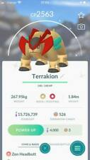 Shiny Terrakion Boosted Trade