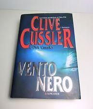 Libro Thriller Azione - Vento Nero , Clive Cussler - Come NUOVO Copertina RIGIDA