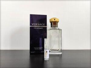 Versace The Dreamer 2 ml Sample Decant Eau De Toilette Floral Sweet Fragrance