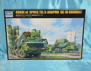 TRUMPETER Model Kit 01038 1:35 - 48N6E of 5P85S TEL S-300PMU SA-10 GRUMBLE NEU