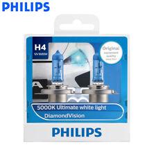 2X Philips H4 9003 12342DV Diamond Vision Car 5000K White Head Light, US Seller