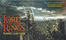LOTR Lord of the Rings REALMS OF THE ELF LORDS Booster Box 36ct SEALED!