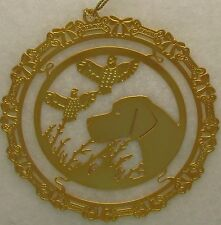Pointer Jewelry Gold Ornament