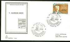 ITALIA BUSTA CAPITOLIUM  1993 100° RADIO CALZECCHI ONESTI MILANO FDC ANNULLO FDC