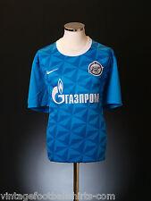 2011-12 ZENIT SAN PIETROBURGO Nike Casa Calcio Soccer Jersey Camicia * Nuovo con Scatola * XL