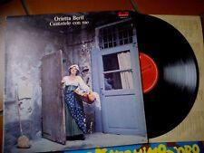 "LP 12"" ORIETTA BERTI CANTATELE CON ME GATEFOLD TEXTURED+ INNER SLEEVE EX+"