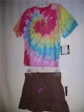 Girls High School Musical Skirt & Tye Dye Top M 5-6 NWT
